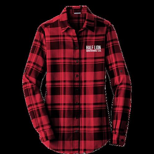 Women's Red/Black Flannel