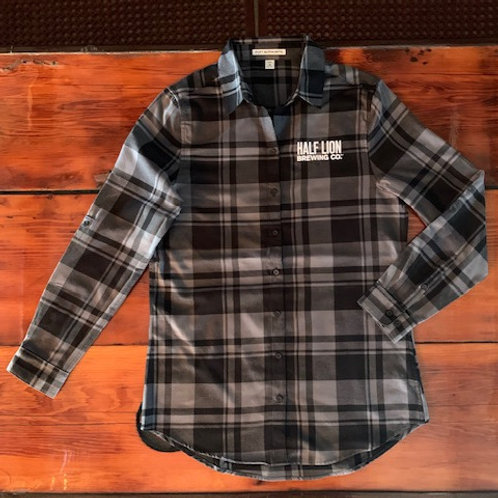 Fall Women's Gray/Black Flannel