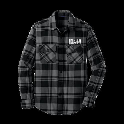 Fall Men's Gray/Black Flannel