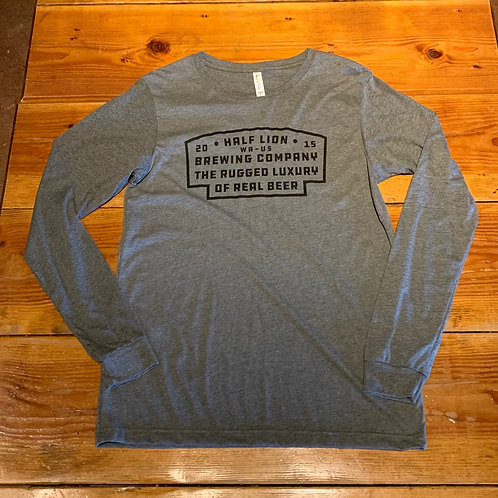 Long Sleeve Grey Rugged Luxury