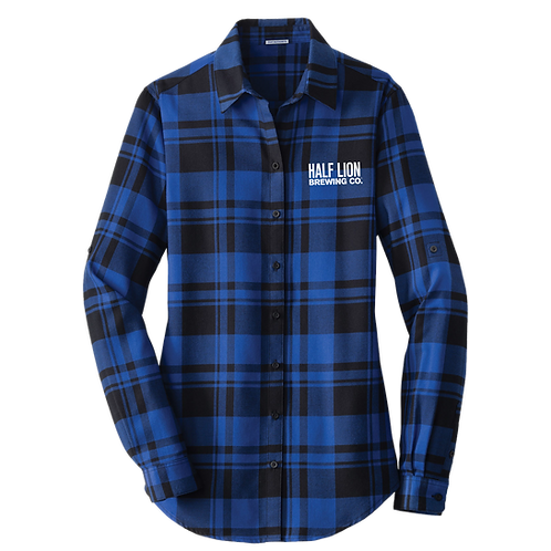 Women's Blue/Black Flannel