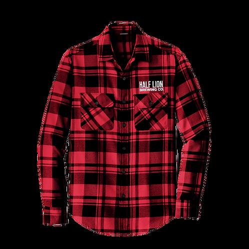 Men's Red/Black Flannel