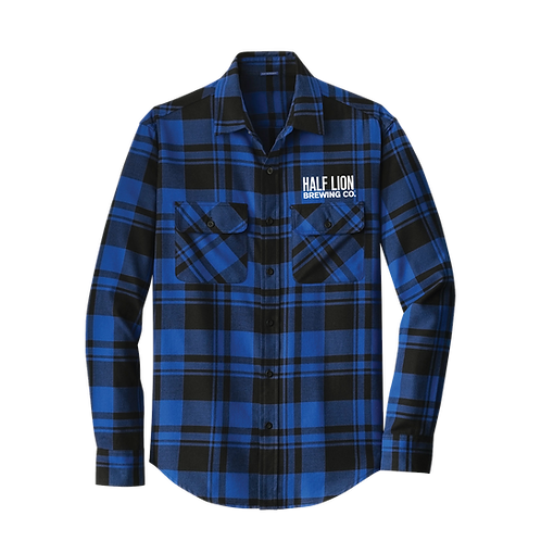 Men's Blue/Black Flannel