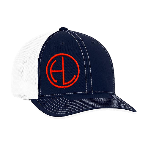 Navy/Red HL Circle Hat