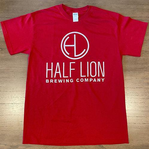 Men's Red HL Logo