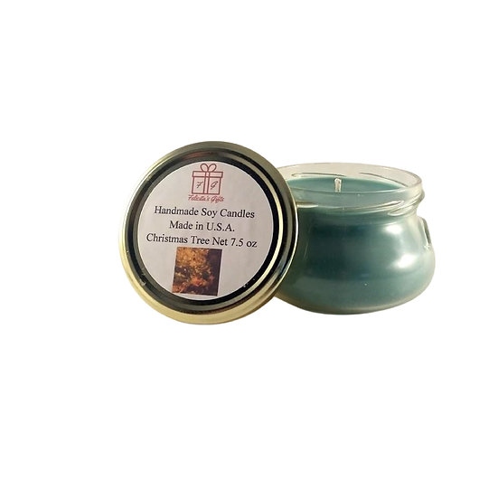 Christmas Tree Soy Wax 7.5 oz Candle