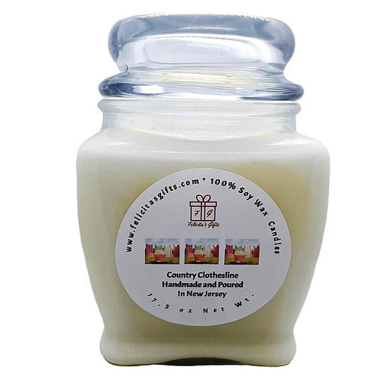 Country Clothesline  Scented Soy Candles