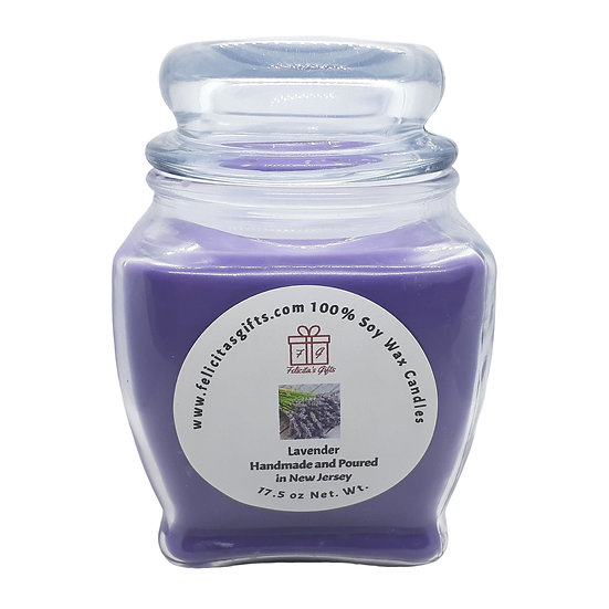 Lavender Scented Soy Candles