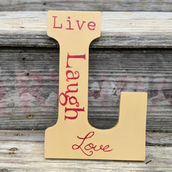 3000x3000 Live Laugh Love