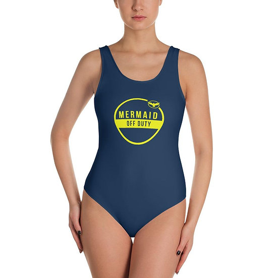 Find Your Coast Swimwear One-Piece Mermaid Off Duty Swimsuit