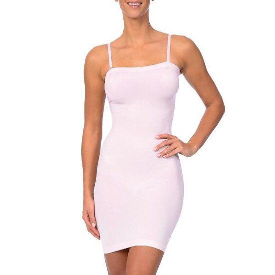 Seamless Strapless Full Body Slip Pale Pink