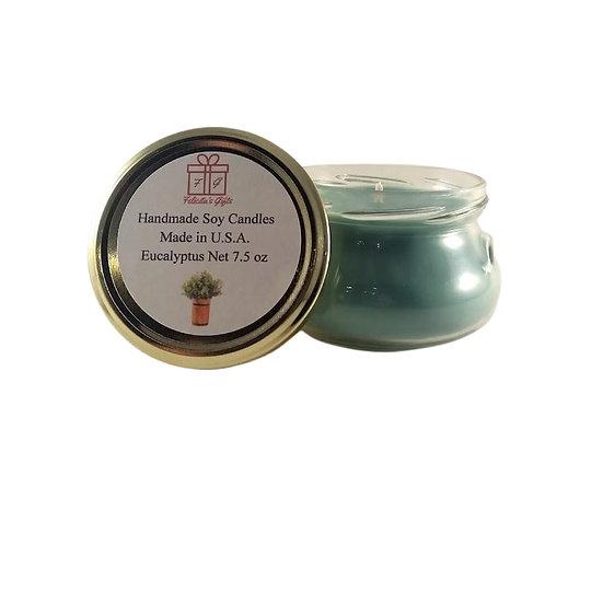 Eucalyptus Soy Wax 7.5 oz Candle
