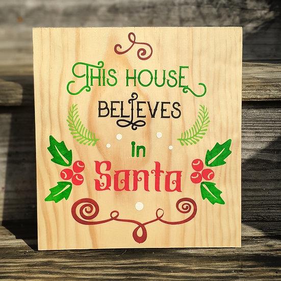 This House Believes in Santa