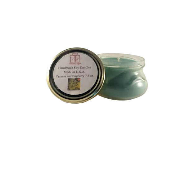 Cypress and Bayberry Soy Wax 7.5 oz Candle