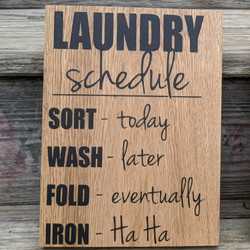 Laundry Schedule 1