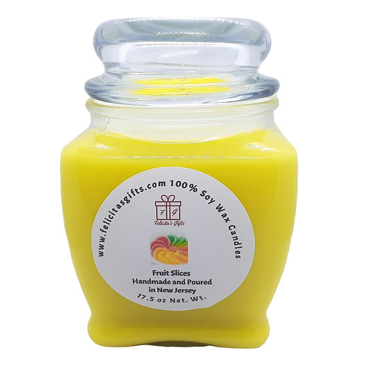 Fruit Slices Scented Soy Candles
