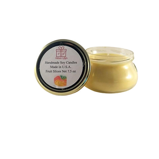 Fruit Slices Soy Wax 7.5 oz Candle