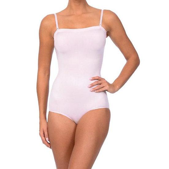 Seamless Strapless Bodysuit Pale Pink