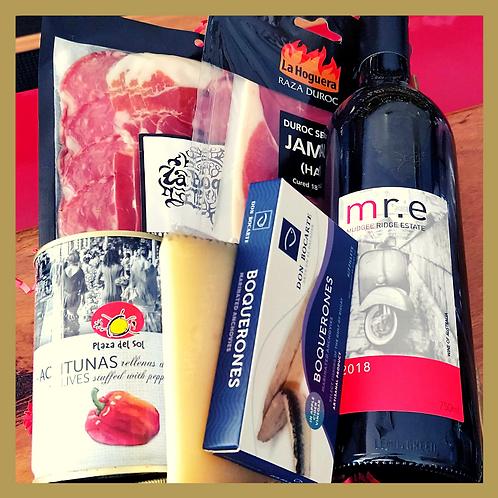Tapas & Wine Selection