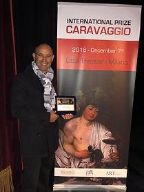 Derwin Leiva Caravaggio Award .JPG