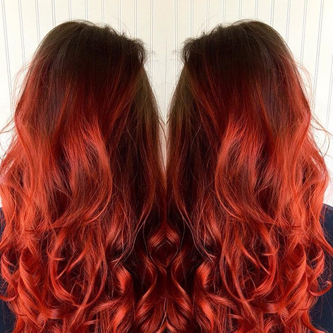 Fiery Coral 🔥🔥 #joicointensity #hairlo