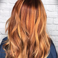 I love a copper blonde! #stylistssupport