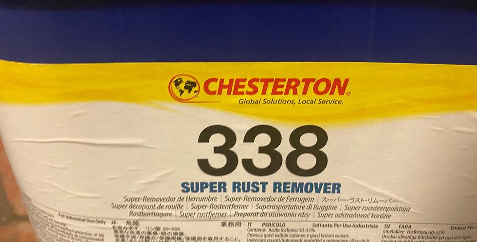 Chesterton rust remover