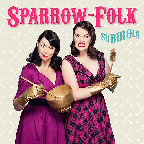 Sparrow-Folk 'SuBIRDia' CD