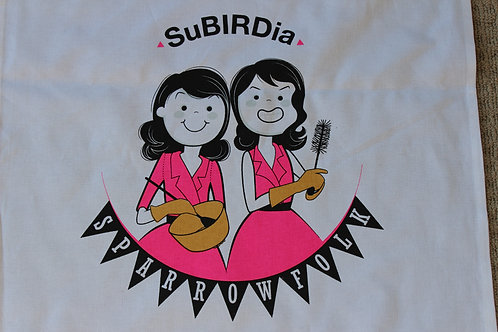 SuBIRDia Tea-towel