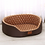 Thumbnail: Brown Polka Dot Bed for Dogs