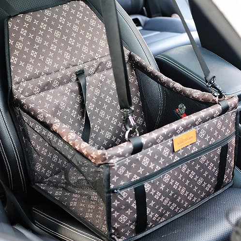 Luxury Pet Car Seat For Safety and Comfort. Waterproof