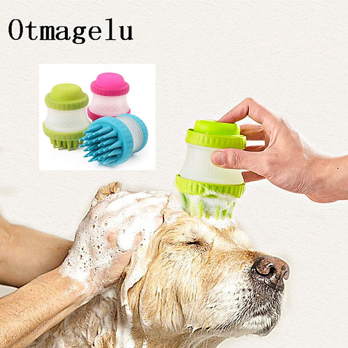 Silicone Bath Brush For Dogs