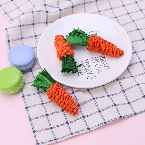 3 Pack Sisal Carrots