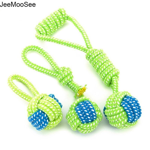 Tough Rope Ball Chew Toy For Dogs