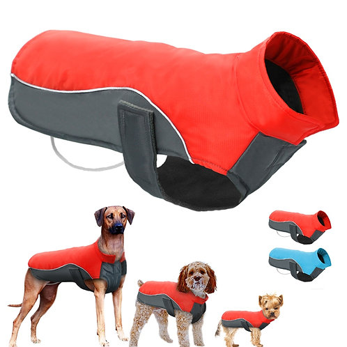 Waterproof Dog Coat For Rainy Day Walks