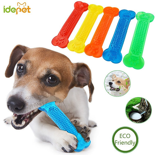 Rubber Bone Chew For Teeth Cleaning