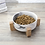 Thumbnail: Ceramic 850ml Bowl with Stand for Cats