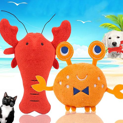 Under the Sea Plushie Pet Chew Toys