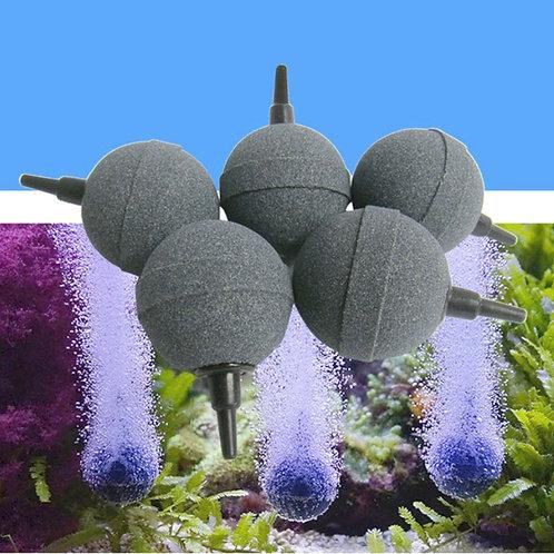 1PC 2cm/3cm/4cm/5cm Aquarium Bubble Stone Aerator