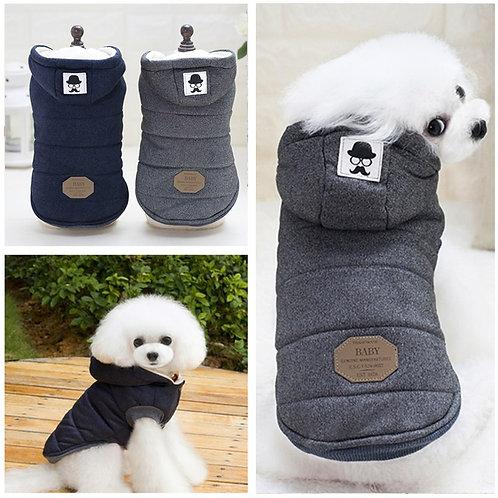 Stylish Cotton Dog Jacket