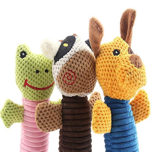 Cute Critters Stuffed Chew Toy