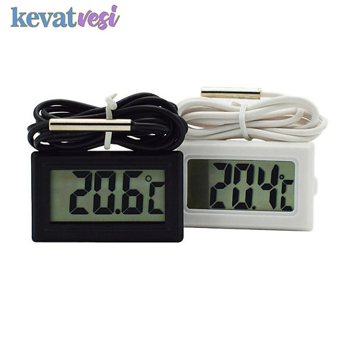 Waterproof LCD Digital Thermometer with Probe