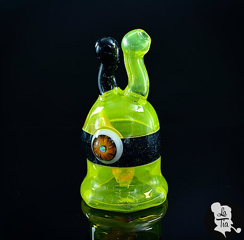 Drewbie Glass - Lemon Drop Sluggo Mini Rig