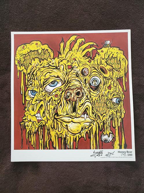 Vincent Gordon x Arron Brooks - Honey Bear Print