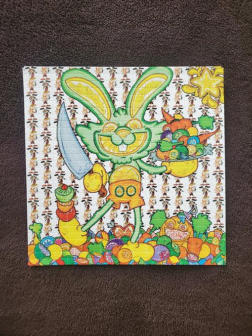 Vincent Gordon - Citrus Bunny Blotter Art