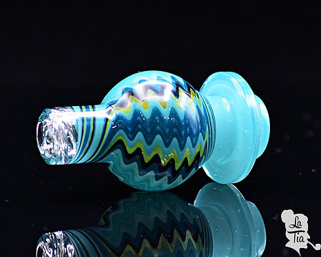 The Glass Carpenter - Agua Azul Linework Spinner Caps