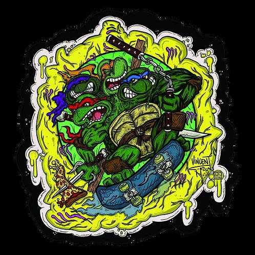 Vincent Gordon - Ninja Turtle MoodMat
