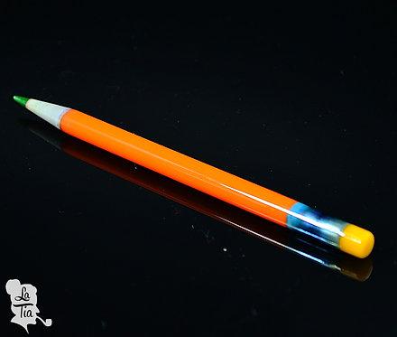 Sherbet Glass - Orange Pencil