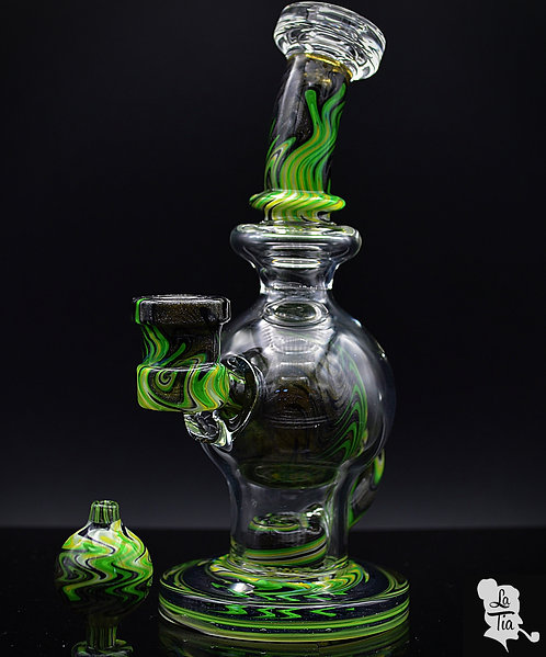 Slate Glassworks - Green Fade Ball Rig