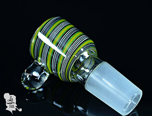 2K Glass Art - 18mm Slide #8